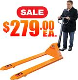 Long Fork Pallet Trucks NEW