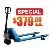 Special Low Profile Pallet Jack