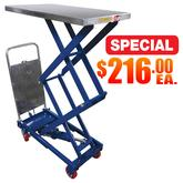 Hydraulic Elevating Carts Special