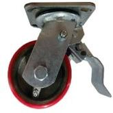 Casters With Brakes