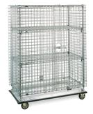 Metro Security Carts & Seismic Shelving