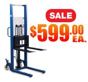 599 Hand Hydraulic Stacker