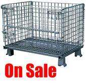 Wire Containers Sale