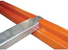 Double flanged cross bars