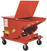 Self Dumping Hopper Casters